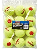 Tourna Low Compression Quickstart Tennis Balls for 60-Feet Court (Pack of 12)