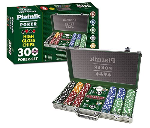 Piatnik 7903 - Set da poker, 300 fiches High Gloss [importato dalla Germania]