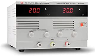 MCH-K3205D DC Regulated Power Supply Adjustable 0-32V 5A 160W Mobile Phone Repair Power Supply High Precision Size : 110V
