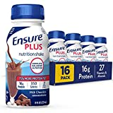 Ensure Plus Nutrition Shake with 13 grams of high-quality protein,...