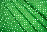 mollipolli-Stoffe Jersey Little Darling Punkte weiß auf