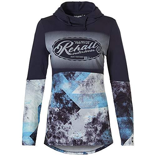Rehall Damen Yara-R Hooded Ski Pullover 60091-M-dunkelblau