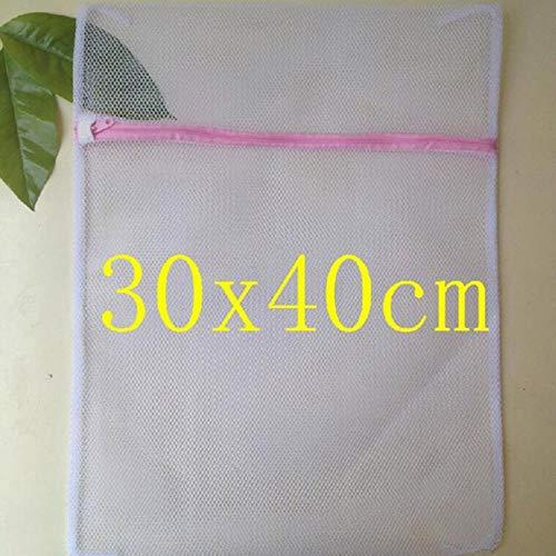6pcs / gewassen Zipper Net Mesh Protection delicate wassen zakken vouwen ondergoed bh sokken ondergoed intieme Washer,1st rose,kleur