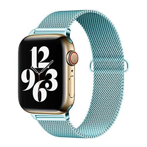 Correa de acero inoxidable para Apple Watch Se / 6/5 Band 44mm 40mm iWatch Serie 4 3 2 1 Pulsera Loop Correa de reloj 38mm 42mm