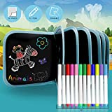 AriTan Portable Erasable Drawing Pad Toys for Kids, Magna Double-Sided Reuse PVC Writing