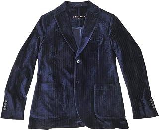 CIRCOLO 1901 (チルコロ) シングルジャケット メンズ ストレッチジャケット ネイビー 紺 正規取扱店