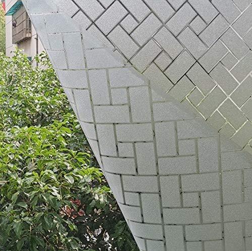 LMKJ Etiqueta engomada de la Ventana Película de Ventana Película de Vidrio Coloreada Adhesión electrostática Etiqueta de Vidrio de Vinilo Oficina en casa Película de Vidrio A41 40x100cm