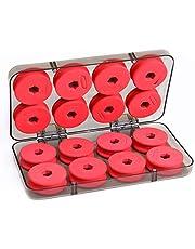 OriGlam - Carretes de espuma para pesca (16 unidades)