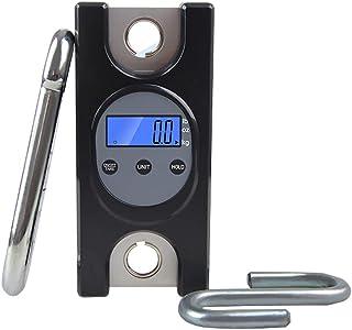 DYB Báscula Colgante electrónica, báscula de grúa Básculas para Paquetes de 300 kg Adecuado para Venta al por Mayor, pesaje exprés, pesaje Grande (Negro) (tamaño: 300 kg x 0,2 kg)