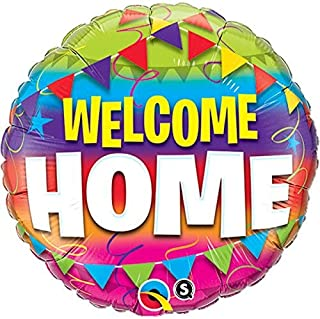 Qualatex Foil Balloon 45245 WELCOME HOME PENNANTS, 18