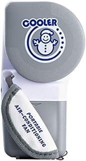 Mini enfriador de aire acondicionado de mano Ventilador sin cuchilla de carga USB Ventilador de enfriamiento portátil de verano para viajes al aire libre en el hogar Gugutogo