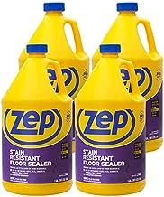 Zep Stain Resistant Floor Sealer 128 Ounce ZUFSLR128 (Case of 4) Durable, Long Lasting Seal