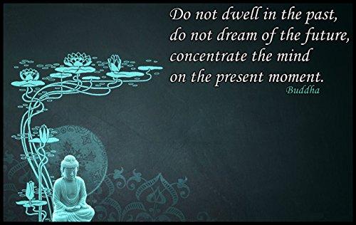Gautama Buddha Quote Fridge Magnet 2.5 x 3.5 Spiritual Poster Magnetic Canvas Print