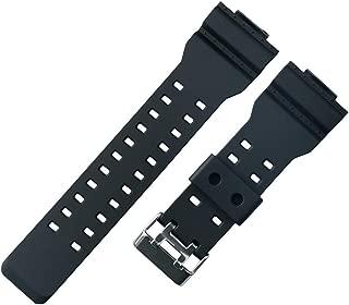 16mm Resin Strap Replacement for casio g Shock ga110 ga100 ga120 gd100 g8900 Men's Rubber Watch Band