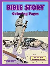 Bible Story Coloring Pages: Action Scenes From the Old and New Testament