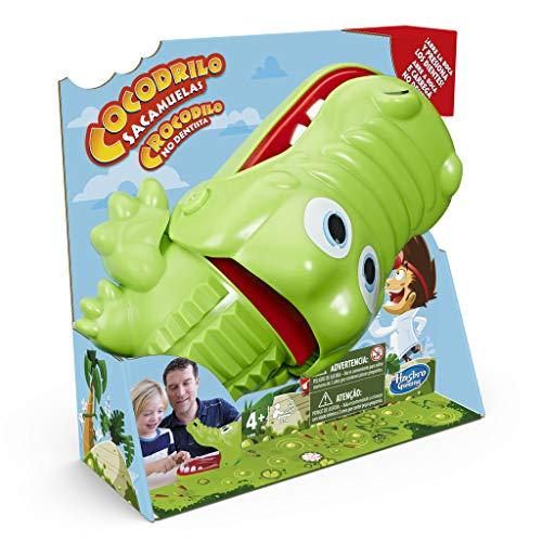 Hasbro Gaming- Cocodrilo Sacamuelas (E4898175)