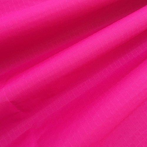 emma kites 40D リップストップ ナイロン生地 ファブリック 150cm巾 × 1M サイズ ホットピンク 薄手 無地 撥水生地 UV処理 計19色バリエーション アウトドア カイト ハンモック テント シュパットバック エコバッグ 手作り生地