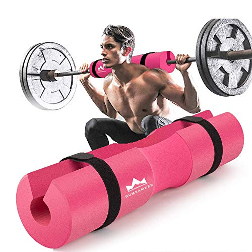 Barbell Pad Squat Pad for Squats, Lunges and Hip Thrusts Foam Sponge Pad - Provides Relief to Neck and Shoulders While Training