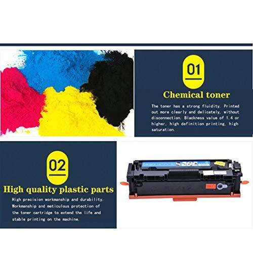 WENMW- Cartucho de tóner Compatible con HP 202A CF500A para impresoras láser Color HP Laserjet Pro M254DW / 254NW / M280NW / M281FDW / 281FDN, Color Negro
