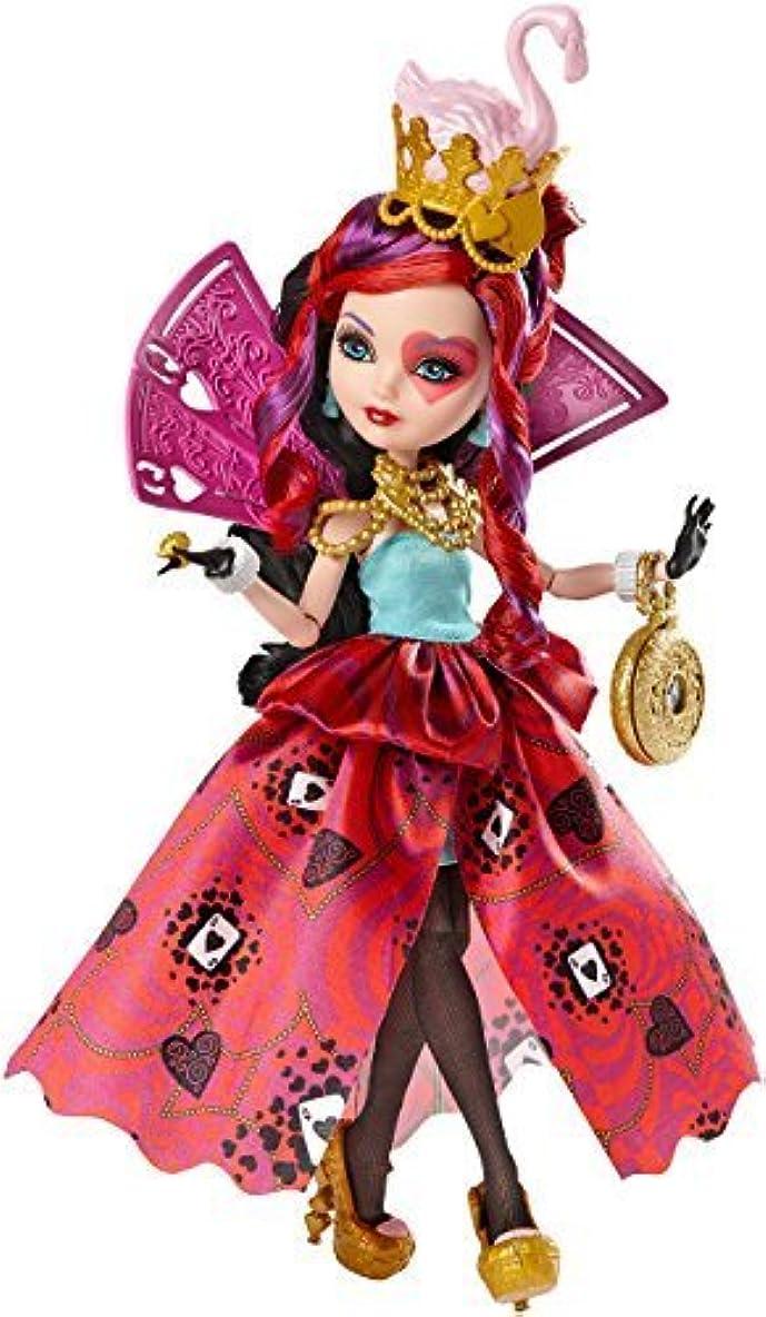 硬さ無駄にクレジット輸入エバーアフターハイ人形ドール Ever After High Way Too Wonderland Lizzie Hearts Doll [並行輸入品]