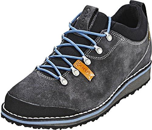 AKU Schnürrhalbschuhe/Sneaker/Wanderhalbschuhe Herren Badia Low GTX mit genähter Sohle und Goretex (UK 7,5 - EU 41,5, Grau)