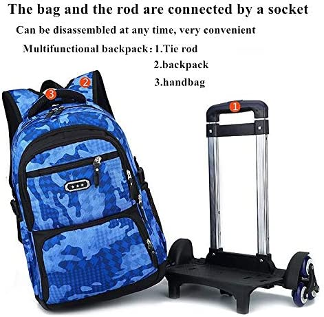 Childrens trolley suitcase _image4