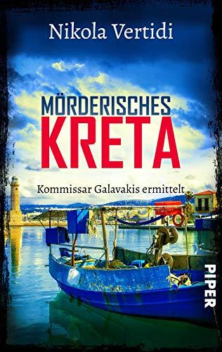 Buchseite und Rezensionen zu 'Mörderisches Kreta' von Nikola Vertidi