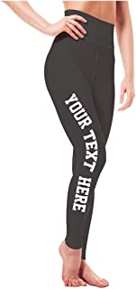 Custom Workout Leggings - Design Your Own Yoga Pants - Spandex & High Waisted