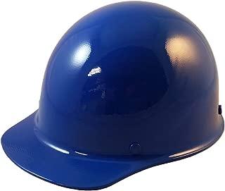 MSA Skullgard Cap Style Hard Hat with Ratchet Suspension - Custom Blue Color