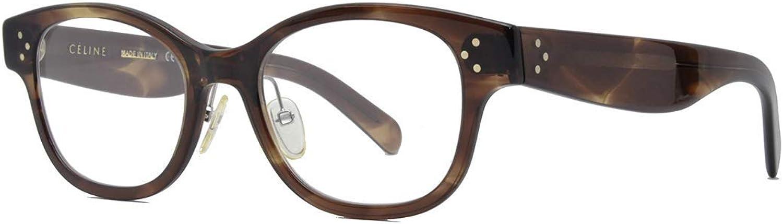 Celine Rx Eyeglasses Frames CL 41437 F 07B 5120150 Havana Brown Asian Fit