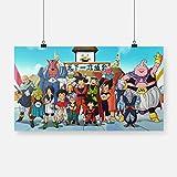 Cuadros modernos impresión sobre lienzo Torneo Mundial de Artes Marciales Dragon Ball -54x30cmImpresión Artística Imagen Gráfica Decoracion