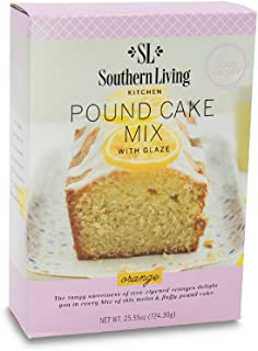 Gourmet Pound Cake Mix – Orange Pound Cake Mix from Southern Living – Rich, Moist, Buttery, Tangy, Sweet Pound Cake with Glaze