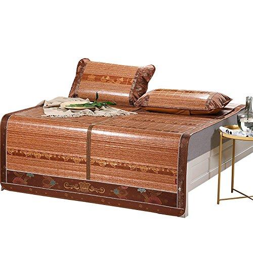 Buy Discount LIUYUNH Home Life Summer Sleeping Mat Bamboo Mat Mat Mat Top Cushion Smooth Air Conditi...