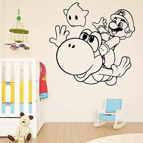 hetingyue muurstickers, moderne muurtattoo, voor kinderkamer, vinyl, waterdicht, woonkamer, wanddecoratie, speelkamer, kunst