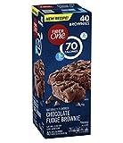 Fiber One Brownies Chocolate Fudge, 70 Calories (40 Count)