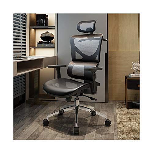 Office Chair Ergonomic Design Ergonomic Office Chair Reclining Chair with Support - Grey