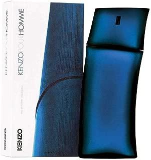 Kenzo Homme Eau de Toilette Spray for Men, 1.7 oz