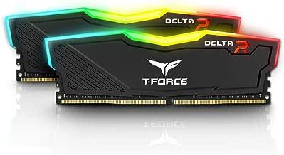 Team 16GB (2 x 8GB) T-Force Delta II RGB Series DDR4 PC4-19200 2400MHz Desktop Memory Model TF3D416G2400HC15BDC0