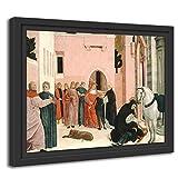 Printed Paintings Marco Americano (38x30cm): Bartolomeo Degli Erri - Santo Domingo Reanimando a Napoleone Orsini