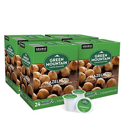 Green Mountain Coffee Roasters Hazelnut, Single-Serve Keurig K-Cup Pods, Flavored Light Roast Coffee, 96 Count