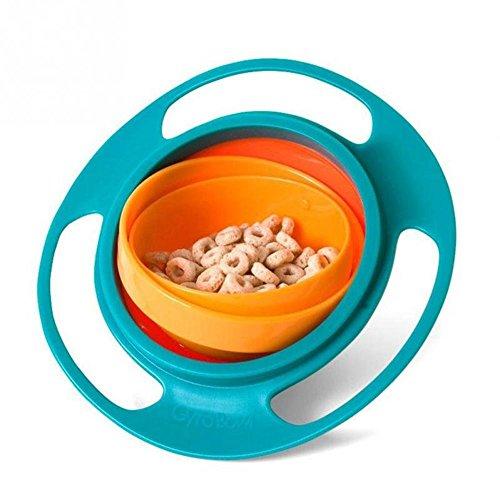 EROSPA® Baby Brei-Schale 360 Grad drehbar schwenkbar Schüssel Müsli Teller Essen Mahlzeit Suppe