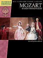 Mozart 15 Easy Piano Pieces (Schirmer Performance Editions)
