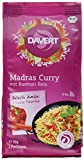 Davert Madras Curry, mit Basmati Reis, 6er Pack (6 x 170 g) - Bio -