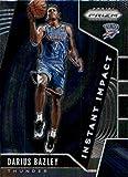 2019-20 Prizm NBA Instant Impact #17 Darius Bazley Oklahoma City Thunder Official Panini Basketball Trading Card