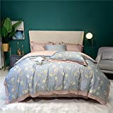 Juego De Ropa De Cama 135x190,Luxus Super Weiche Atmungsaktive Tencel Komfortable Bettwäsche Set Sexy Leopard Druck Seidige Bettbezug Flache / Ausgestatttt Blatt KissenBezug-2_1,8 m de cama (4pcs)