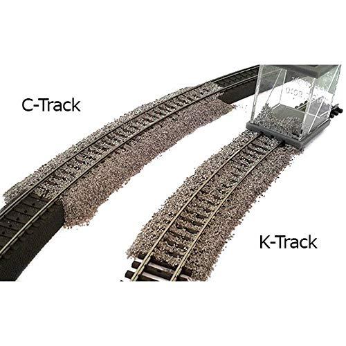 Proses PBS-HK-01 H0 Schotterverteiler für Märklin K- und C-Gleise, Dreileiter-Gleis