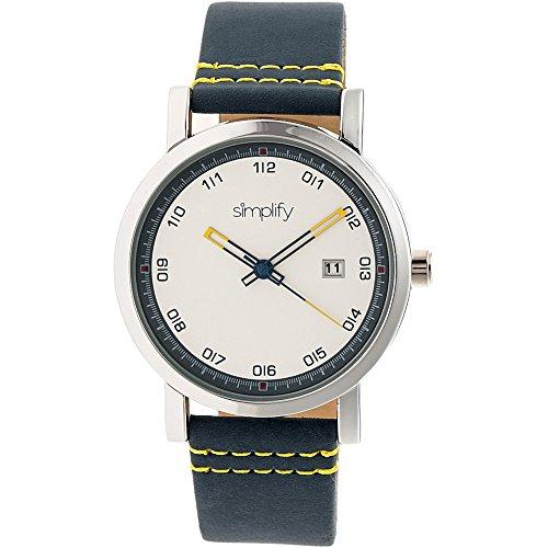 Simplificar The 5300 - Reloj de pulsera, color plateado