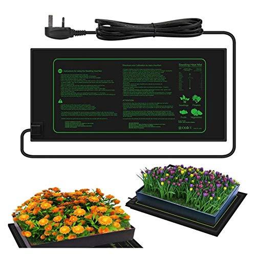 Plántula de estera de calor Planta Calentamiento de efecto invernadero Almohadilla de calefacción impermeable Reptil planta semilla Calentamiento de calor Almohadilla para jardinería en exteriores