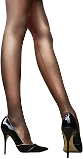 Sexy Women's Pantyhose Solid Sheer Back Seam Reinforced Crotch Nylon Stockings Tights Hosiery