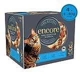 Encore 100% Wet Cat Food, Fish Selection Pot, 4x 6 x 60g (Total 24 Pots)
